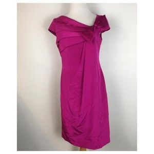 Kay Unger New York Women's Pink Sheath Party Dress